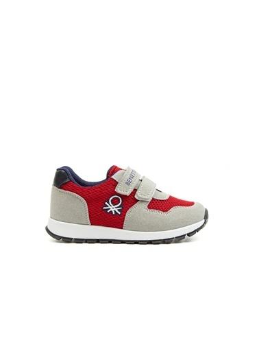 Benetton Bn30023 Çocuk Spor Ayakkabı Kırmızı